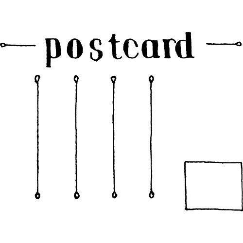A7 'Leere Postkarte' Stempel (Unmontiert) (RS00003609)