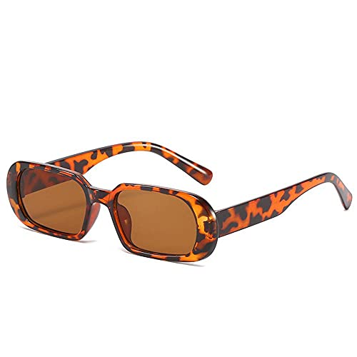 MU-PPX Gafas De Sol para Mujer Gafas De Sol Retro Ovaladas con Montura Estrecha Gafas De Sol Polarizadas con Protección Uv400 Vintage Shades para Mujer