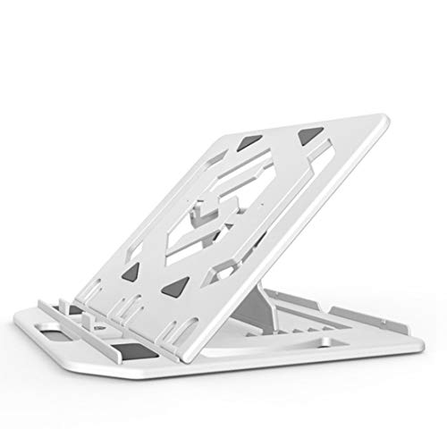 BiaBai Adjustable Folding Laptop Stand Non-slip Portable Laptop Holder Desktop Notebook Heat Dissipation Bracket