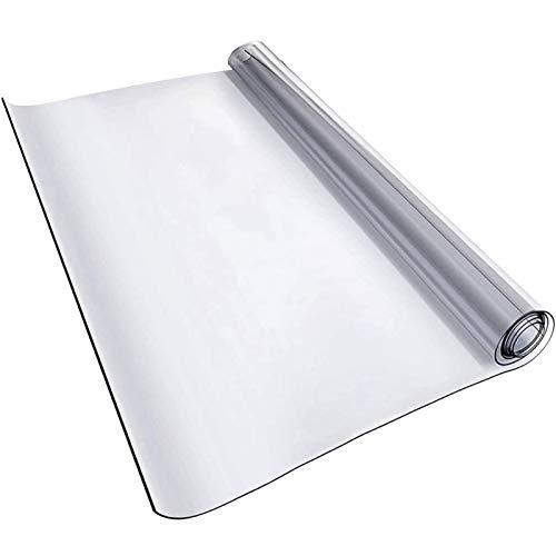 Silla De Oficina Esterilla para ProteccióN De Suelos Transparente Grosor: 0,5 Mm, Muchos TamañOs A Elegir, Esterilla De ProteccióN para Suelos Duros(100x120cm/39.37x47.24in)