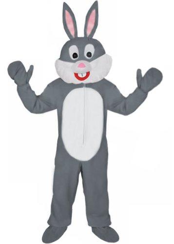 Neu Hase grau Einheitsgrösse L- XL Kostüm Fasching Karneval