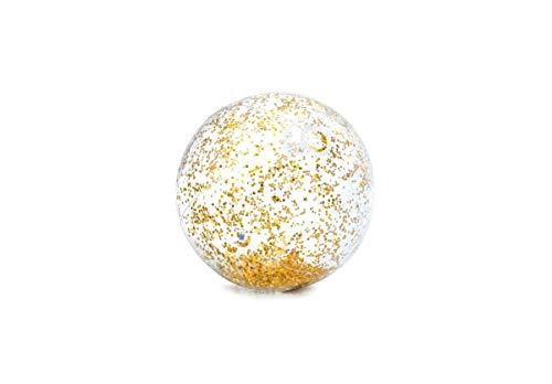 Intex Pool Zubehör Glitzer Wasserball transparent Ø71cm Gold