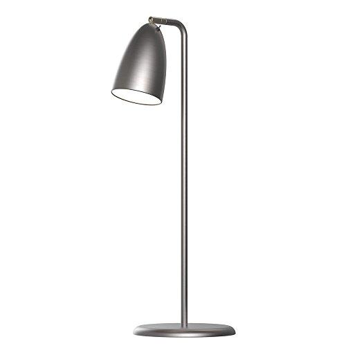 Nordlux NEXUS Lampe de table LED SMD GU10 2700 K 200 lm IP20 Acier brossé Classe d'efficacité énergétique A+