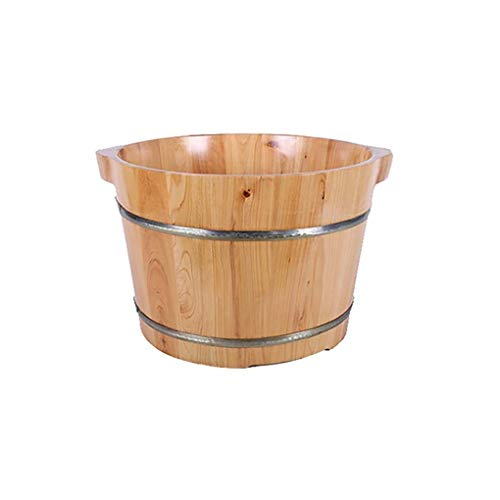 Best Price Footbath,Wooden Foot Bath Barrel Wooden Household Durable Health Foot Washing Bucket Foot...