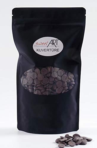 Schokolade Callebaut Callets Zartbitter Kuvertüre 1 kg, 54,5 %, feinste Konditor-, Backschokolade
