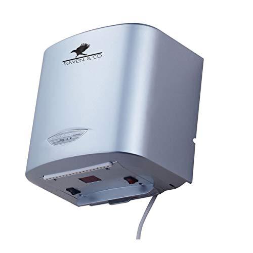 RAVEN & CO Secador De Manos Electrico automatico RV81068 110V / 1200W Uso liviano