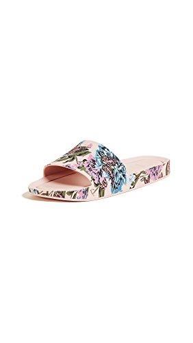 Melissa Shoes Damen Beach Slide III, (rosa, blau), 37 EU