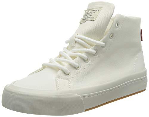 Levi's Women's Summit MID S Sneaker, Regular White, 8 UK