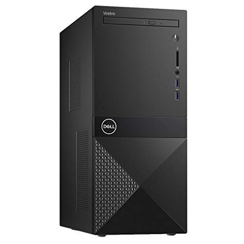 Newest_Dell_Vostro Real Business (Better Design Than Inspiron and XPS) Premium Desktop, Intel i5-8400 Processor, 8GB RAM, 1TB HD, DVD R/W, HDMI, Wireless+Bluetooth, Windows 10 Pro