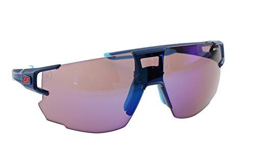 Julbo J5023436 Sonnenbrille für Erwachsene, Unisex, Blau/Weiß/Rot, XL