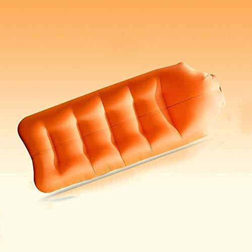 Auto-Rücksitz Matratze Luftmatratze Luftmatratze Bett for Home Camping Faul im Freien aufblasbaren Bett Haushalt Verdickung Zeltkampieren tragbares aufblasbares Sofa Außenluft faul Sofas Tasche (Farbe
