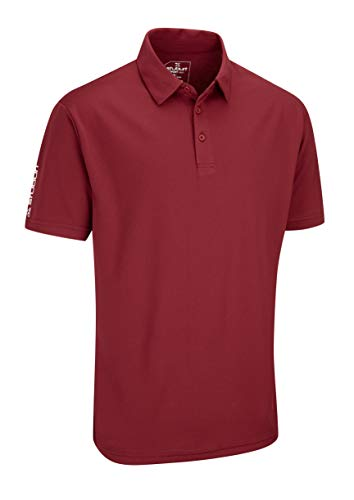 Stuburt Golf SBTS453 Sport Tech Golf-Spitze T-Shirt-Polo-Hemd, Burgundy, XXX-Large