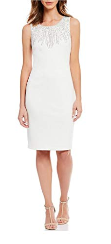 Calvin Klein Women's Sleeveless Dress with Embellishment