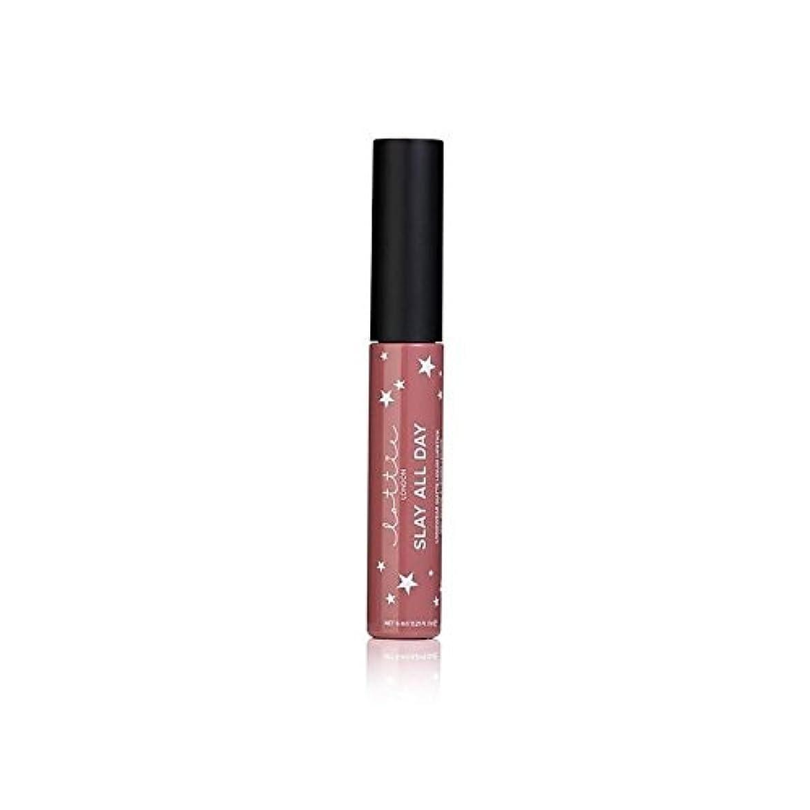 エレベーター未亡人リビジョンLottie London Matte Liquid Lipstick - #TBT (Pack of 6) - # - ロンドンマット液体口紅を x6 [並行輸入品]