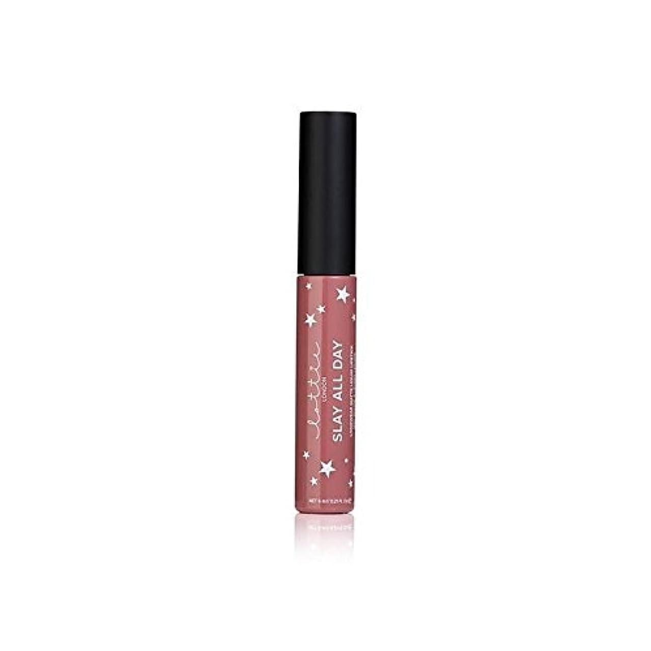 インスタンスうるさいうんLottie London Matte Liquid Lipstick - #TBT (Pack of 6) - # - ロンドンマット液体口紅を x6 [並行輸入品]