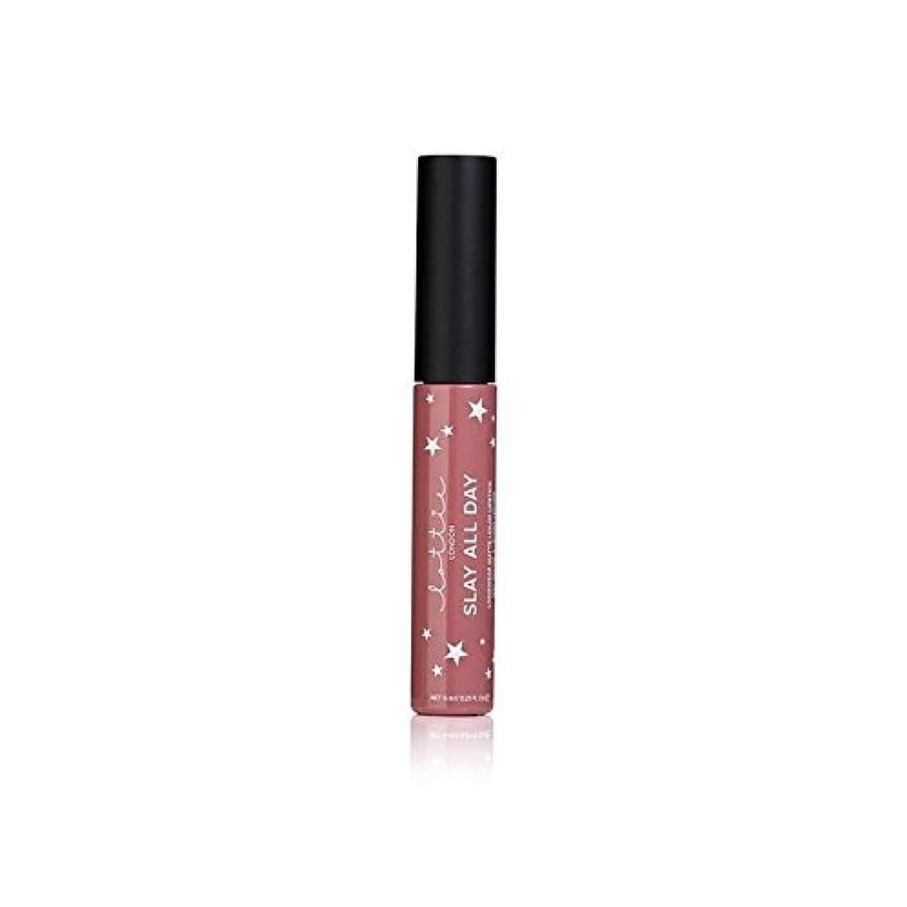 れる上げる交換可能Lottie London Matte Liquid Lipstick - #TBT - # - ロンドンマット液体口紅を [並行輸入品]