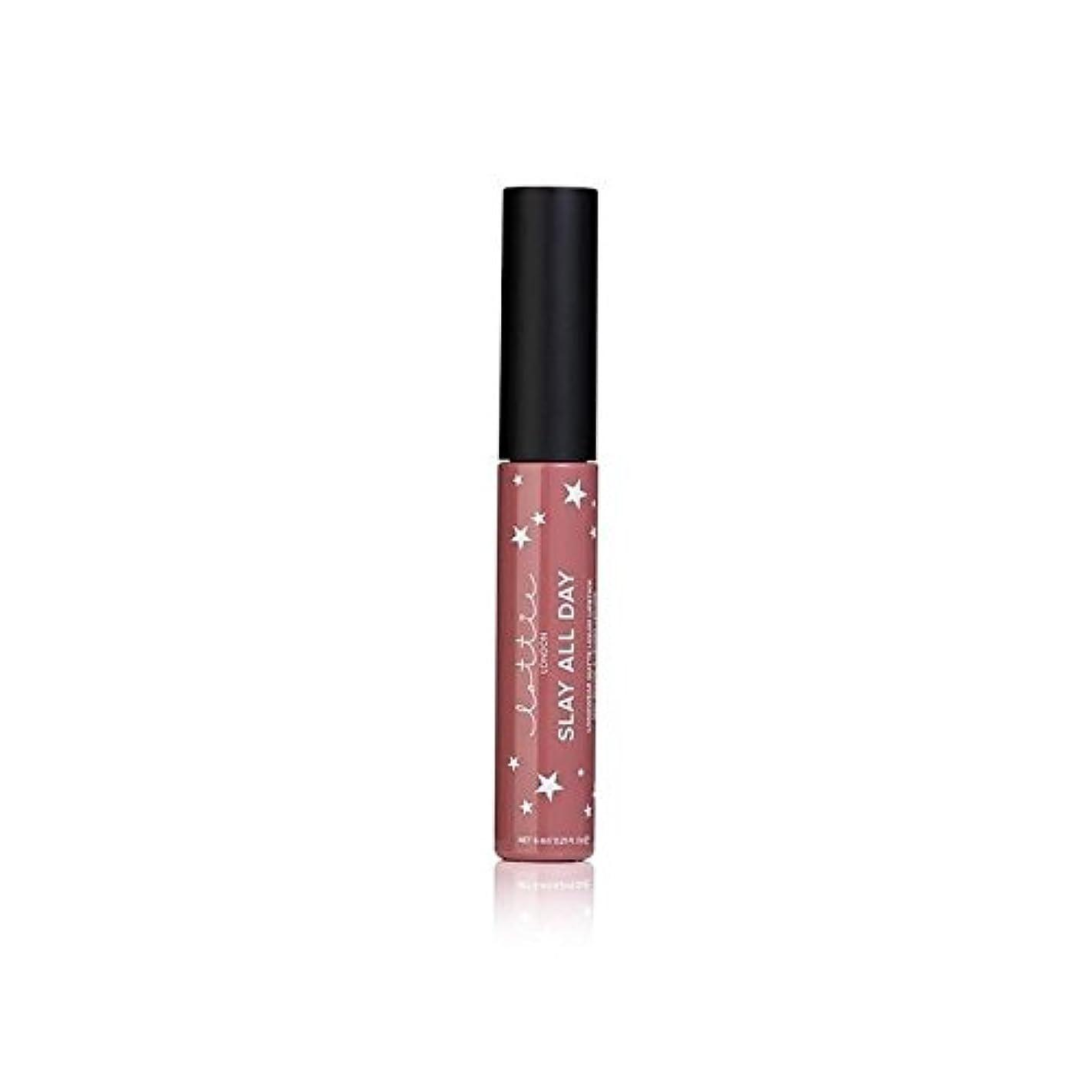 チーム幾分木Lottie London Matte Liquid Lipstick - #TBT - # - ロンドンマット液体口紅を [並行輸入品]