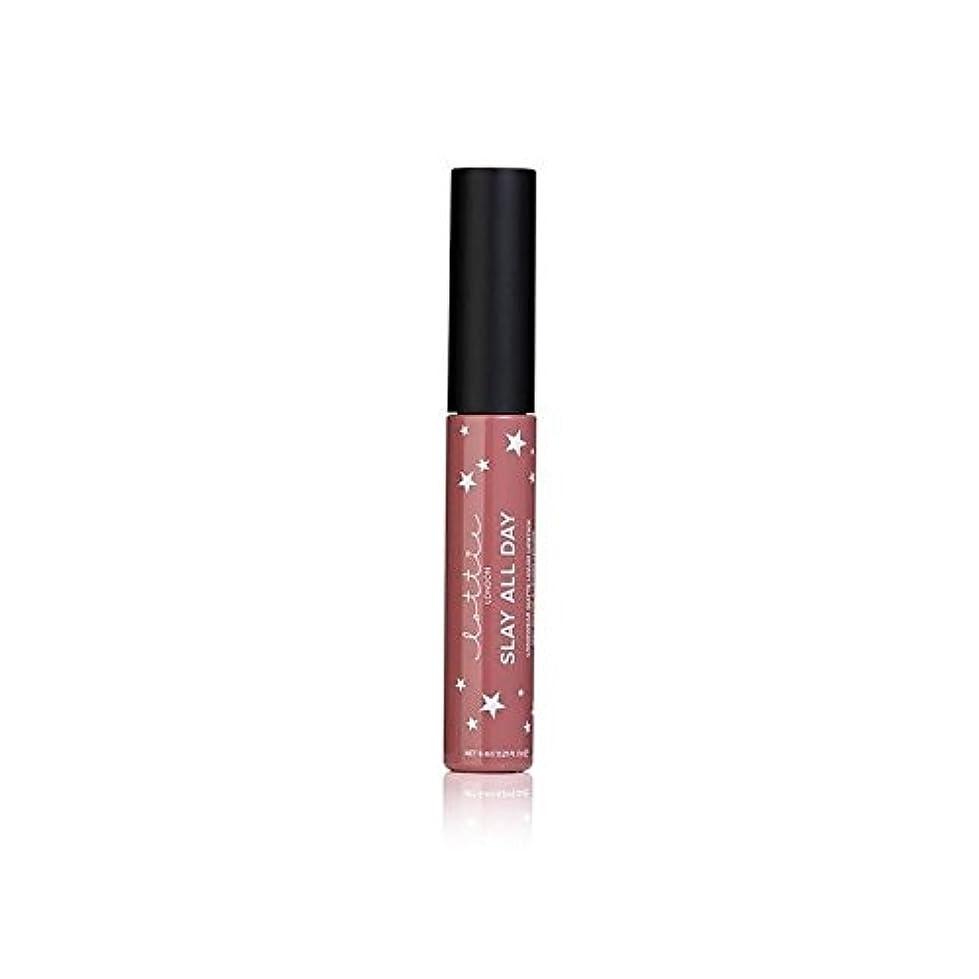 保持上記の頭と肩勤勉Lottie London Matte Liquid Lipstick - #TBT - # - ロンドンマット液体口紅を [並行輸入品]