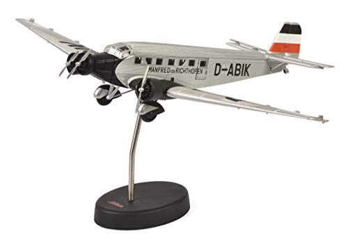 Schuco 403551800 Junkers Ju 52/3m 1:72 403551800-Junkers, Silber, Modellauto, Modellfahrzeug