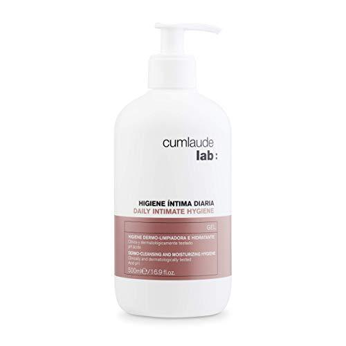 Cumlaude - Gel Higiene Íntima Diaria CLX - Limpiador hidratante y protector para la Zona Íntima - 500 ml