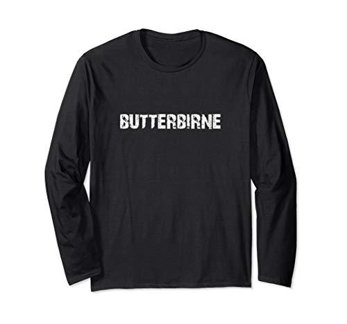 BUTTERBIRNE Geschenk Langarmshirt