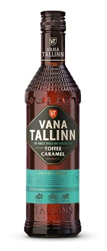 Vana Tallinn Toffee Caramel - Karamell | Vanille | Fudge | süss & lecker | Jamaika Rum als Basis | perfekt als Dessert & Shot | estnischer Rumlikör | 35% | 1 x 0.5 L