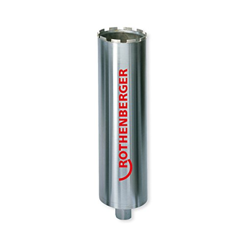 Rothenberger FF00650 Speed Star DX Core Drill Bit, 1/2' Thread, 52mm Diameter