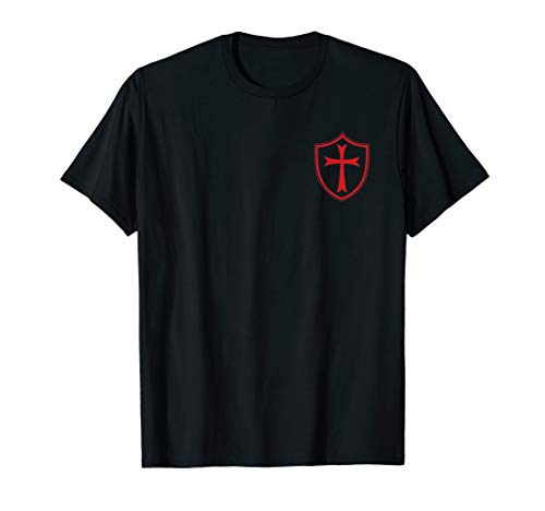Tempelritter Schild & Kreuz, Dichtung von Soldaten, T-Shirt