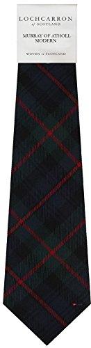 I Luv Ltd Gents Neck Tie Murray Of Atholl Modern Tartan Lightweight Scottish Clan Tie