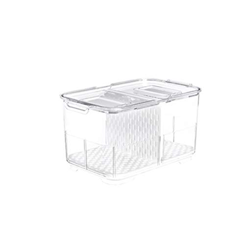 Yippel Food Storage Container Plastic Voedsel Containers Dubbellaags Vriezer Koelkast Kluis Houd Vers