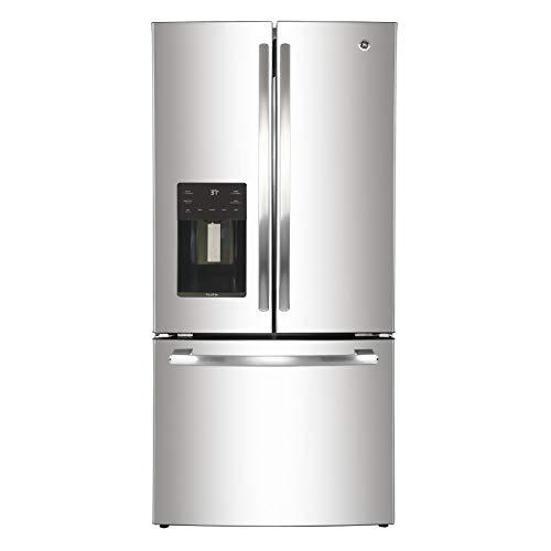 GE Profile PYM18HSLFSS Refrigerador Bottom Freezer, Acero Inoxidable, 18 pies