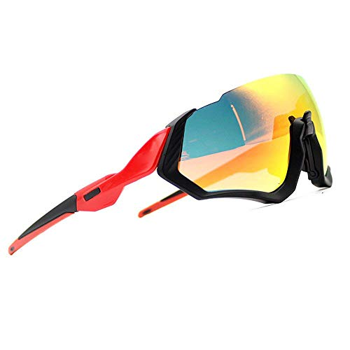 2018 nuevo kit gafas sol ciclismo 3LS Revo + polarizado