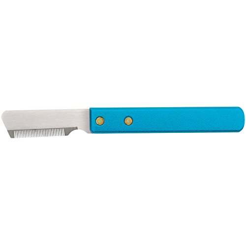 Master Grooming Tools Stripping Knives — Non-Slip Tools for Grooming Dogs - Fine, 6¾'