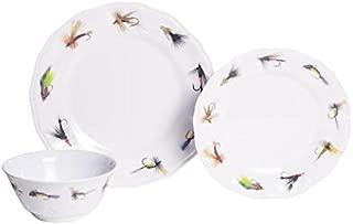 fly fishing dinnerware