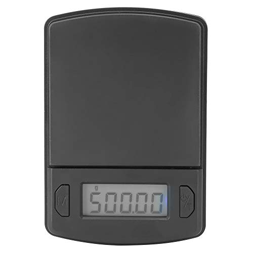 Escala de bolsillo digital 500g/0.01g Mini escala de miligramos portátil para joyería Cocina Peso de la comida