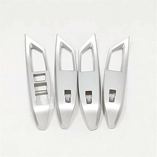 MIOAHD Cubierta de Interruptor de Control de elevación de Vidrio para Puerta y Ventana, Apta para Ford Focus 2019