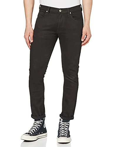 Lee Herren Luke Jeans, Black Clean Black, 34W / 32L