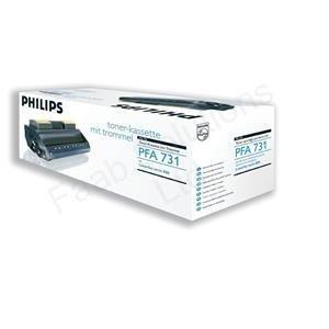 Philips PFA731 - Cartucho de tóner láser para fax (5000 páginas), color negro