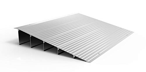 EZ-ACCESS TRANSITIONS Modular Aluminum Entry Ramp, 5