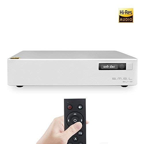 DAC HIFI SMSL SU-8 2ES9038Q2M USB PCM32 768 kHz DSD64 DSD512 DSD Bilanciamento DAC Decoder