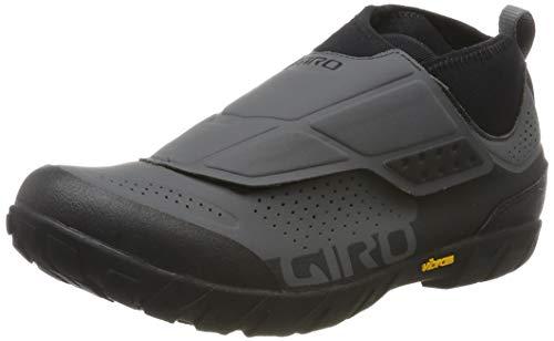 Giro Herren Terraduro Mid MTB Radsportschuhe - Mountainbike, Mehrfarbig (Dark Shadow/Black 000), 44.5 EU