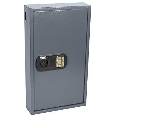 OfficeForce® Digitaler Schlüsselkasten, Schlüsselschrank, Sicherheit, bis 150 Schlüssel, Doppellbolzen Codeschloss (20103)