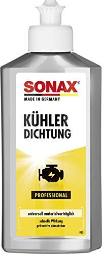 SONAX 04421410 JUNTA DE RADIADOR Sellador de grietas y agujeros en sistema de refrigeración (250 ml)