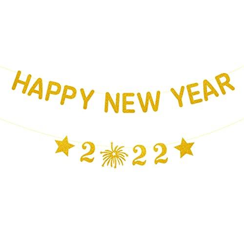 dfsda Banner de Navidad - Banner de Feliz año Nuevo - Banner...