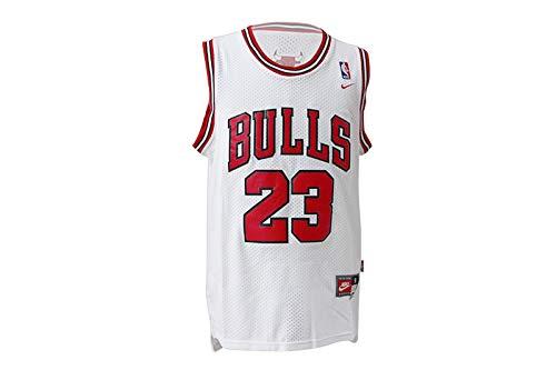 Herren NBA Michael Jordan # 23 Chicago Bulls Basketball Trikot Retro Gym Weste Sport Haut M-XXL