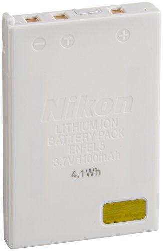 Nikon EN-EL5 Lithium-Ionen Akku für C3700/4200/5200/5900/7900/P3/P4/S10/P5000/P510/P520