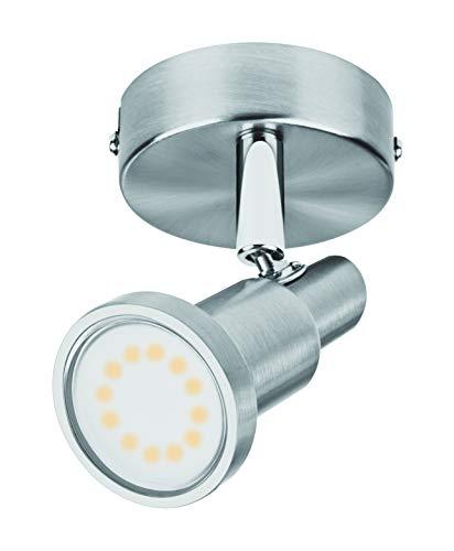 LEDVANCE LED Spotlight, Leuchte für Innenanwendungen, GU10 Fassung, Warmweiß, 80,0 mm x 80,0 mm x 130,0 mm, LED spot