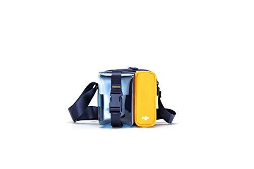 DJI Mavic Mini Bag - Transporttasche für Mavic Mini-Drohnen & Zubehör, Mavic Mini Schultertasche, DJI Zubehör, Tragetasche für Drohnen, Schutzhülle, Travel Case, 150x150x55 mm - blau/gelb