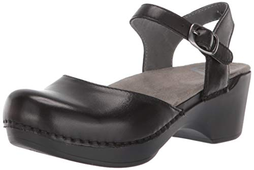 Dansko Women's Sam Sandal, 8.5-9 US, 39 EU, Black