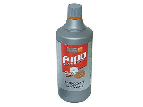 Faren 88220 DISINCROSTANTE Acido F400 1000 ML, Rosso